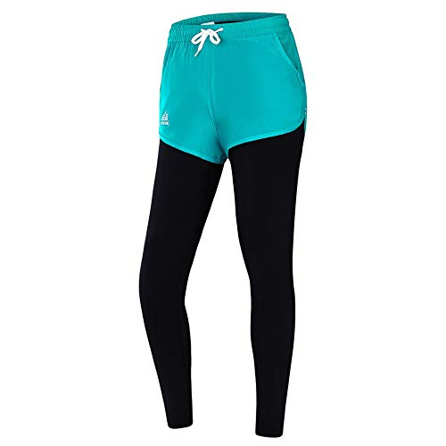 Pantalones Yoga Falso cyan Dos Invierno Fitness Running Otoño El Apretados l Maaxelastica Elásticos Ajustados Y Girls Slim Show Sports dqYvawT0