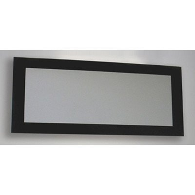Whitehaus WHE19NG Aeri Bathroom Mirror, Black Glass ()