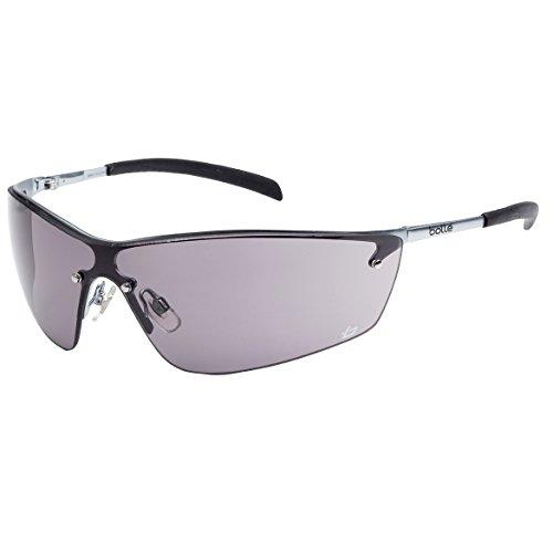 Bolle Safety Smoke Safety Glasses, Anti-Fog, Scratch-Resista