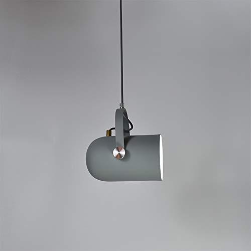 Lumière Led Lustre Nordique Minimalisme Droplumière Angle Réglable E27 Petit Lampes Suspendues, Lampe De Décoration Décor à La Maison Et Bar Vitrine Spot Lumière Cordon D'AliHommestation Noir gris Clair