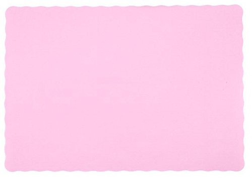 25-Paper-Placemats-10-X-14-Dinner-Size-26-Colors-Pink