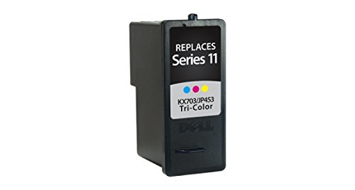 (Inksters Remanufactured Ink Cartridge Replacement for Dell Series11 Ink Tricolor HY, KX703 / JP453 (Series 11))