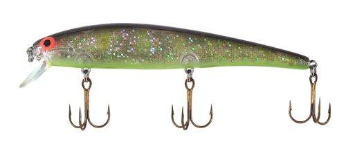 Bomber Long A Fishing Lure (Yellow Perch, 4 1/2-Inch) (Long Perch)