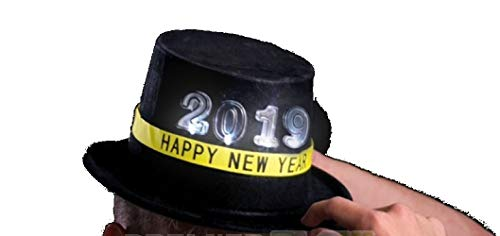 Light Up Flashing New Year's Eve Top Hat - Tons of Fun for That New Year -
