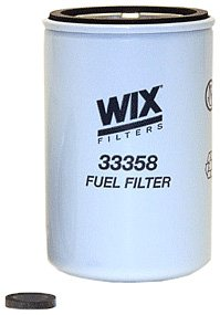 WIX Filters - 33358 Heavy Duty Spin-On Fuel Filter, Pack of 1 by Wix