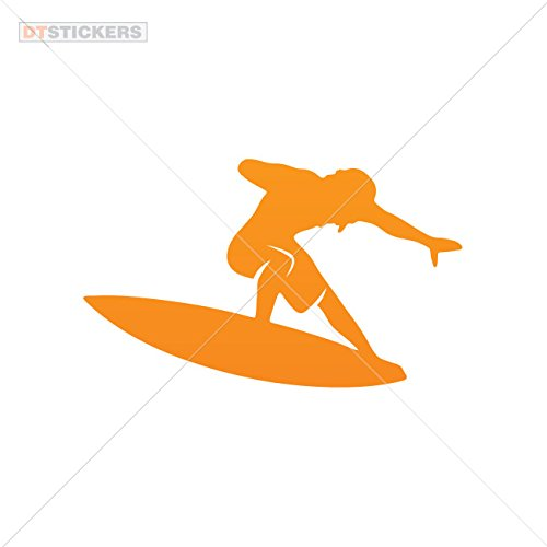 Vinyl Stickers Decals Vinyl Surf Sporting Activities Sing Garage home window aqua action exercise vacation (20 X 12,0 Inches) Orange