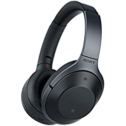 Sony MDR-1000X Premium Noise Cancelling Wireless Bluetooth Hi-Fi Headphones, Black (MDR1000X/B)