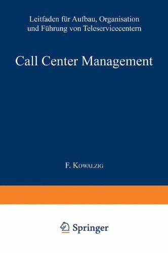 Call Center Management: