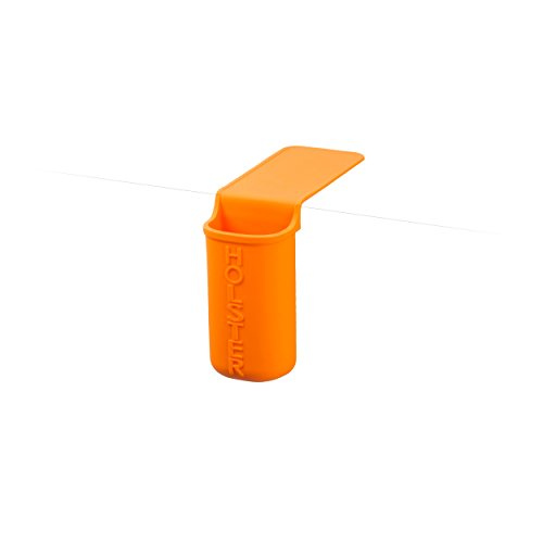 Holster Brands Lil Holster Small Bathroom Essentials Storage Holder, Skinny, Orange