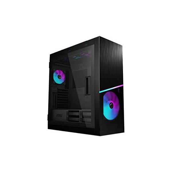 Caja de PC Gaming MSI MPG SEKIRA 500X Mid-Tower ARGB