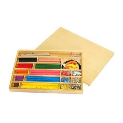 Montessori Geometric Stick Material: Toys & Games