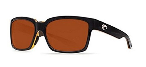 Costa Del Mar Playa Sunglasses, PY 80 OCP Black/Amber/Copper 580 ()