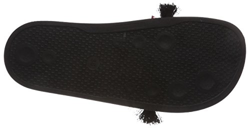 Black Zehentrenner Damen Inuovo Schwarz 9201 WgPwqU