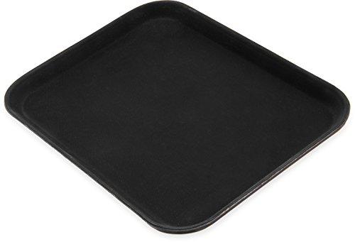Carlisle 1410GR004 Griptite Rectangular Tray, 13-13/16-Inch by by 10-5/8-Inch by 27/32-Inch, Black