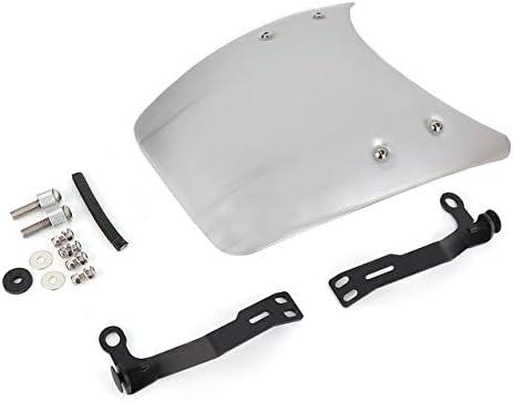 XCJ Parabrezza per Moto Parabrezza Moto Parabrezza di Alta qualit/à Cupolino Moto Le Parti Fit for BMW R Nine T NINET 2014-2019 R9T R NINET FF Parabrezza Regolabile Color : Silver