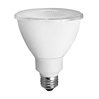LED - 12 Watt - PAR30 - Long Neck - 75W Equal - 1484 Candlepower - 40 Deg. Flood - 4100K Cool White - TCP LED12P3041KFL
