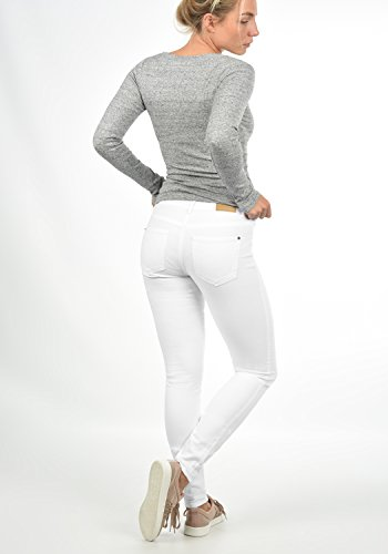 White Skinny Denim Lara Jacqueline Femme Only Coupe by Jean Pantalon Yong Extensible de 0wwCqxg7P