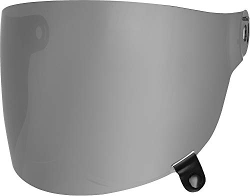 - Bell Bullitt Flat Shield, Silver Iridium - Black Tab
