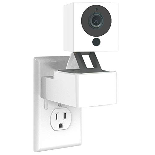 AMORTEK Wyze Cam Wall Mount, Security Surveillance Camera Outlet Wall Mount Stand Holder (Wyze Cam V2)