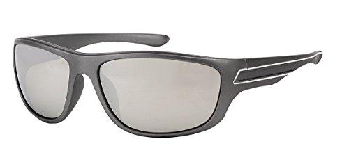 Gris; miroir S519 soleil mode sport gris verre de Lunettes 40Pnxx