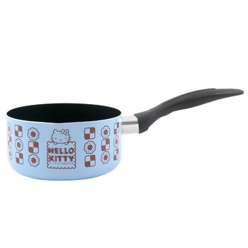 Hello Kitty Small Pot With Pour Spout: Blue