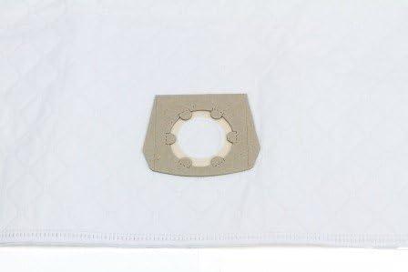 10 bolsas de tela para aspiradoras Einhell 30L Aspiradora Duo 30 ...