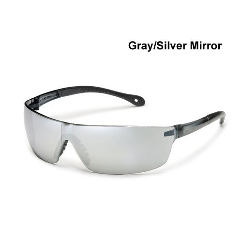 Gateway Safety Starlite Squared Safety Glasses Gray Silver Mirror Lens by Gateway Safety