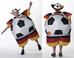 Unbekannt Sparmeile 25725 Aufblasbares Kinderkostum Deutschland Fussball