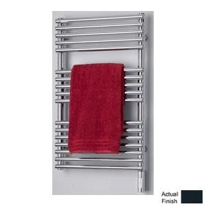 Runtal NTR-3320-5008 Neptune Hydronic Towel Radiator 33-in H x 20-in W Gray Blue 5008 Hydronic Towel Radiator