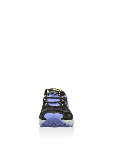 ASICS GEL-FUJITRAINER 3 GTX Women's Zapatilla De Correr Para Tierra Negro / Gris Oscuro / Morado