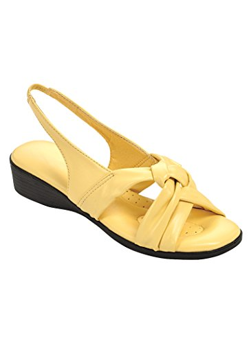 Beagles Women Adult Angel Steps Florida Ii Synthetic 5 Medium Us Women / Yellow