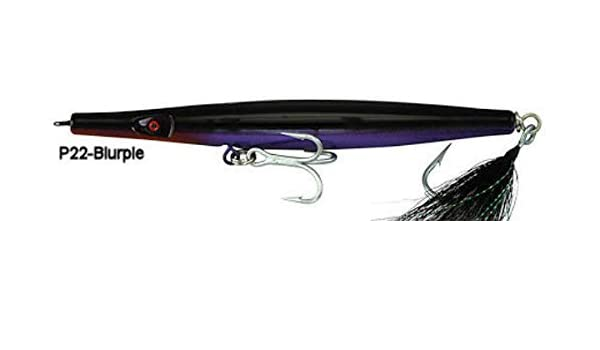 "Super Strike Lures Super N Fish Needlefish Sink All Black 6 3//8/"" 2 3//8oz"