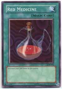 (Yu-Gi-Oh! - Red Medicine (LOB-054) - Legend of Blue Eyes White Dragon - Unlimited Edition - Common )