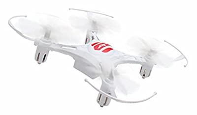 Mini RC Quadcopter,TeckEpic H8 Mini Drone Flying Toy Headless Mode 2.4G 4CH 6 Axis Gyro RTF RC Helicopter-White from MindKoo