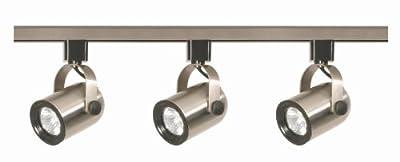 Nuvo Lighting TK316 3-Light PAR30 Short Neck Gimbal Ring Track Light Kit