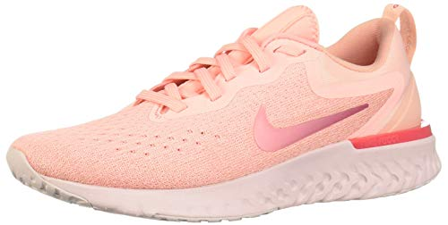 (Nike Women's Odyssey React Running Shoe Oracle Pink/Pink Tint/Coral Stardust Size 7 M US)