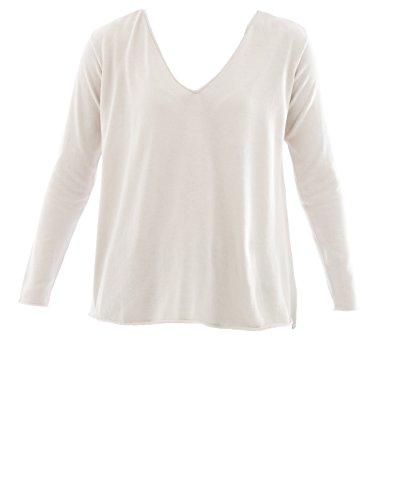 Fabiana Filippi Mujer E24417K028VR2 Beige/Blanco Algodon Jersey