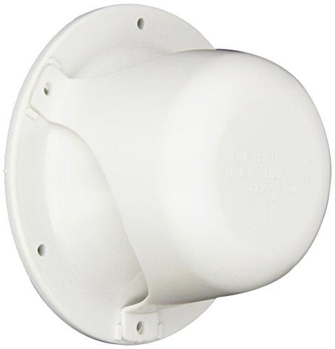 - Custom Plastics 43 Polar White Plumbing Vent
