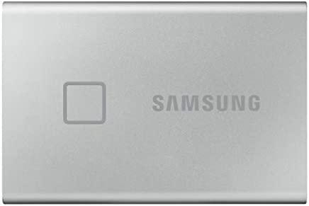 Samsung T7 Touch Portable Ssd 1 Tb Usb 3 2 Gen 2 Computer Zubehör