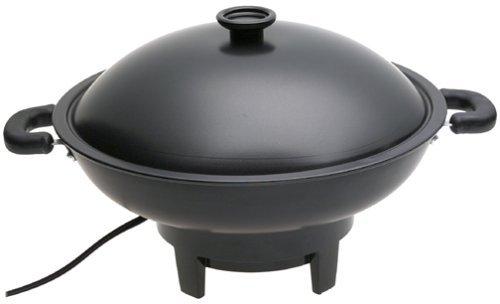 Aroma Housewares AEW-305 Electric Wok, Black by Aroma Housewares by Aroma Housewares