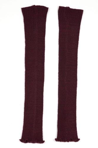 Ballet Beautiful Long 30 inch Stretch Ribbed Legwarmers