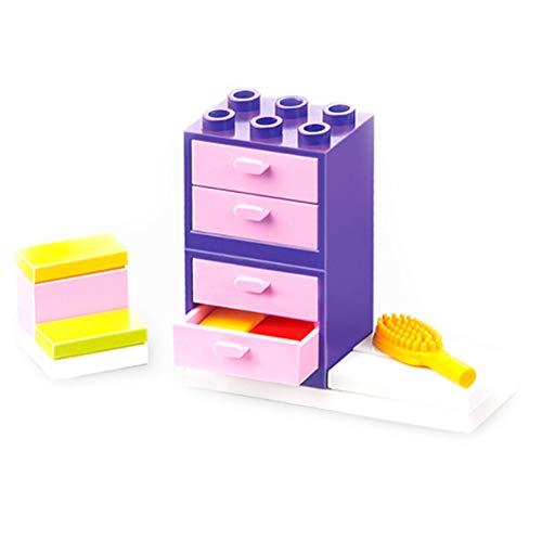 (Brosco Miniature DIY Dollhouse Furniture Toys for Children Pretend Play Furniture to Fg)