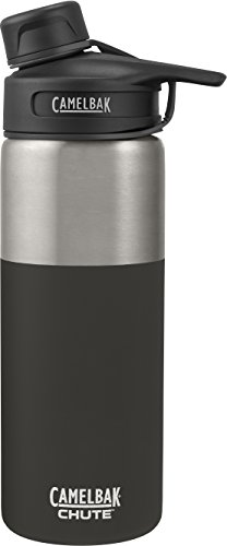 CamelBak (53863) Chute Vacuum Insulated Stainless Water Bottle -  Jet, 20 oz 20 Ounce Bike Bottle