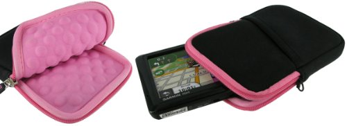 roocase-super-bubble-neoprene-pink-black-sleeve-case-for-tomtom-go-2535-tm-go-2435-go-2405-tm-start-