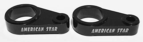 American Star 1 Inch Billet Aluminum Front Brake Line Clamp ()