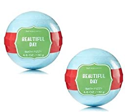 Bath and Body Works Beautiful Day Signature Collection Bath Fizzy 2 Pack 4.6 Oz / 130 g
