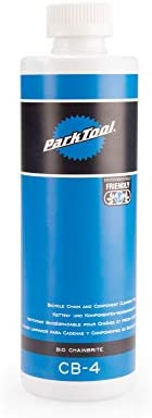 Park Tool CB-4 Bio Chainbrite Bicycle Chain & Component Cleaning Fluid - 16 ounces. Bottle