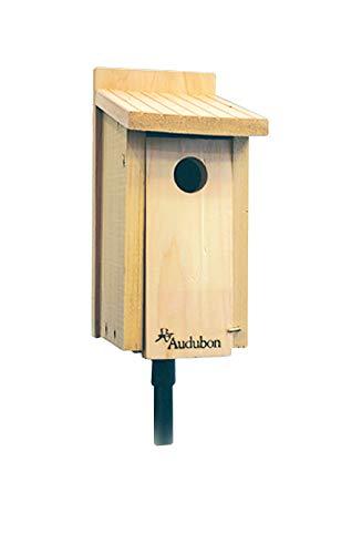 Cedar Bluebird Birdhouse With Copper Top: No