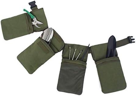Botreelife Garden多機能キャンバスツールFanny Packポケットツールストレージバッグガーデンツールベルト
