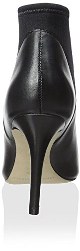 Loeffler Black Randall Bootie Leather Women's wgqwIrva
